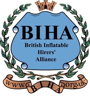 British Inflatable Hirers Alliance Logo | Bouncy Castle Hire Telford